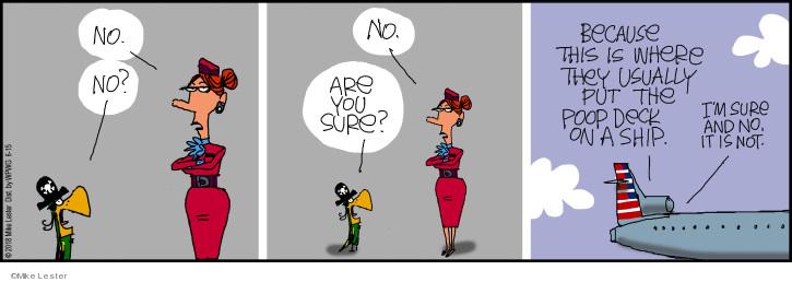 Comic Strip Mike Lester  Mike du Jour 2018-06-15 plane