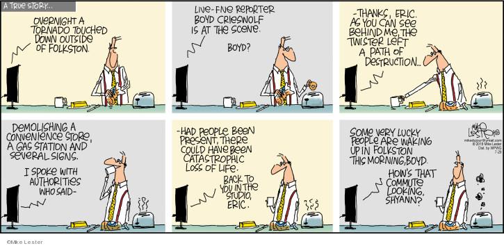 Cartoonist Mike Lester  Mike du Jour 2018-07-29 story