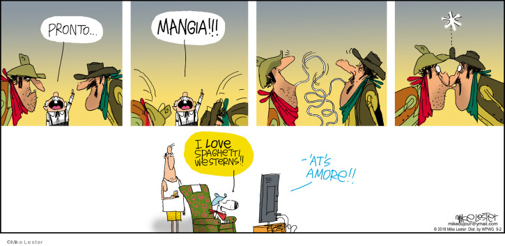 Comic Strip Mike Lester  Mike du Jour 2018-09-02 love