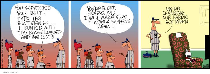 Cartoonist Mike Lester  Mike du Jour 2018-09-08 happen