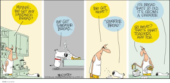 Comic Strip Mike Lester  Mike du Jour 2018-09-23 sandwich