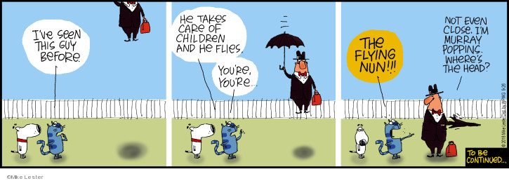 Comic Strip Mike Lester  Mike du Jour 2018-09-26 child