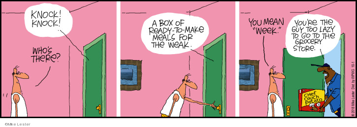 Cartoonist Mike Lester  Mike du Jour 2018-10-01 Mike