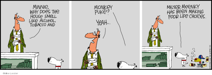 Comic Strip Mike Lester  Mike du Jour 2018-10-08 life