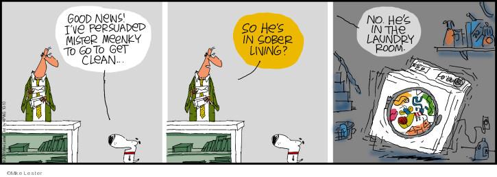 Cartoonist Mike Lester  Mike du Jour 2018-10-10 Mike