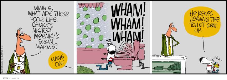 Cartoonist Mike Lester  Mike du Jour 2018-10-13 Mike
