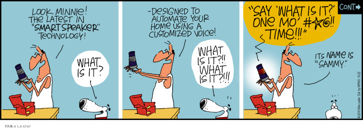 Comic Strip Mike Lester  Mike du Jour 2018-10-22 technology