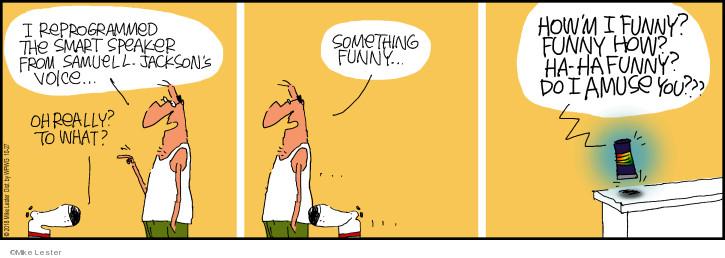 Comic Strip Mike Lester  Mike du Jour 2018-10-27 amuse