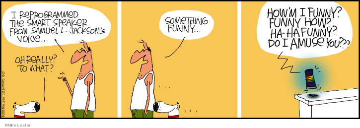 Cartoonist Mike Lester  Mike du Jour 2018-10-27 film