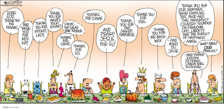 Comic Strip Mike Lester  Mike du Jour 2018-11-18 salad