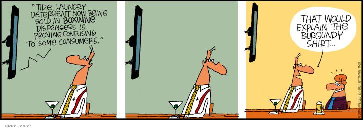 Cartoonist Mike Lester  Mike du Jour 2018-11-28 wine