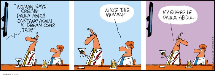 Comic Strip Mike Lester  Mike du Jour 2018-11-29 woman