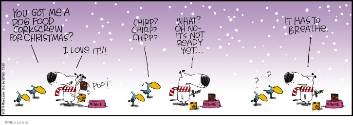 Comic Strip Mike Lester  Mike du Jour 2018-12-20 dog