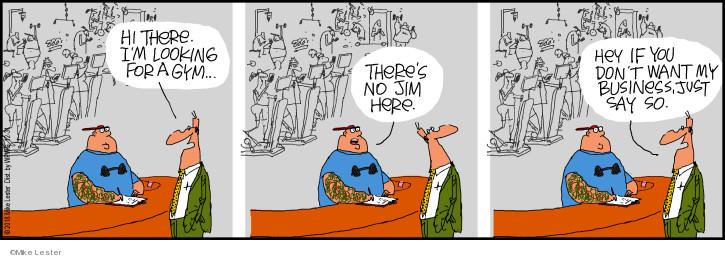 Cartoonist Mike Lester  Mike du Jour 2018-12-31 Mike