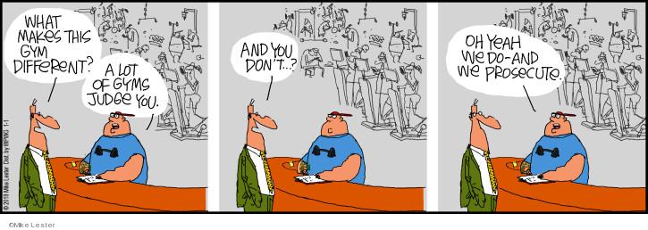 Cartoonist Mike Lester  Mike du Jour 2019-01-01 Mike
