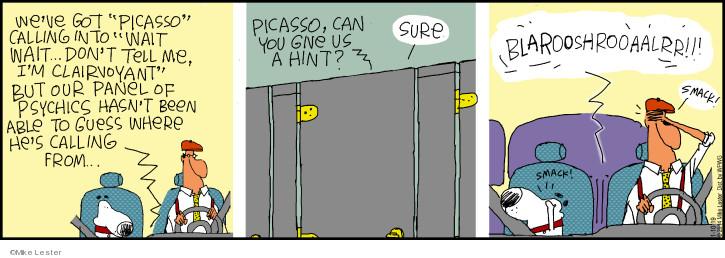 Cartoonist Mike Lester  Mike du Jour 2019-01-10 Mike