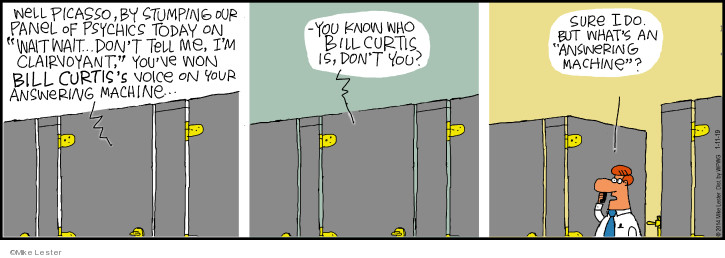 Comic Strip Mike Lester  Mike du Jour 2019-01-11 game show