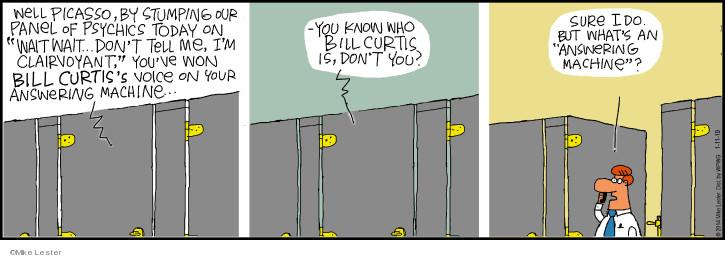 Cartoonist Mike Lester  Mike du Jour 2019-01-11 Mike