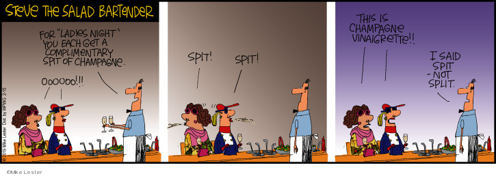 Comic Strip Mike Lester  Mike du Jour 2019-02-15 split