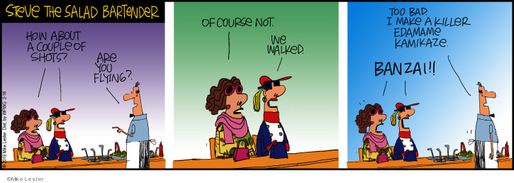 Comic Strip Mike Lester  Mike du Jour 2019-02-16 couple