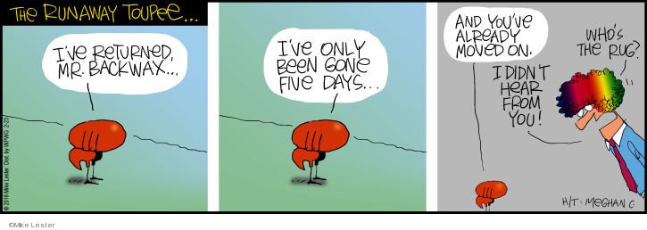 Cartoonist Mike Lester  Mike du Jour 2019-02-23 date