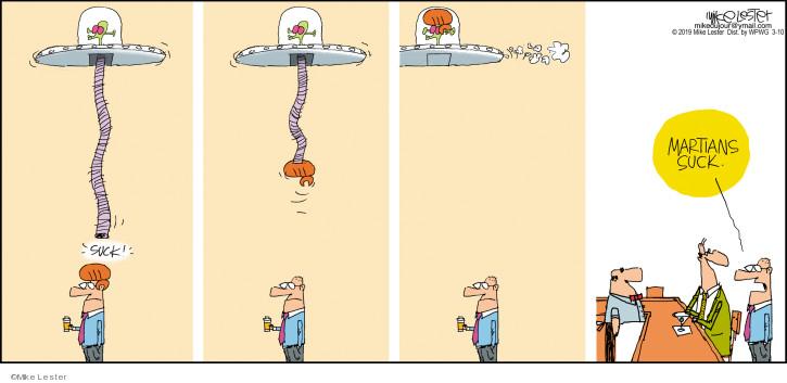 Cartoonist Mike Lester  Mike du Jour 2019-03-10 Mike