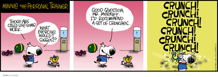 Comic Strip Mike Lester  Mike du Jour 2019-03-01 question