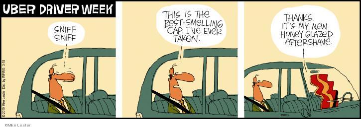 Cartoonist Mike Lester  Mike du Jour 2019-03-18 automobile