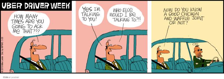 Cartoonist Mike Lester  Mike du Jour 2019-03-20 film