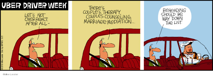 Comic Strip Mike Lester  Mike du Jour 2019-03-21 marriage counseling