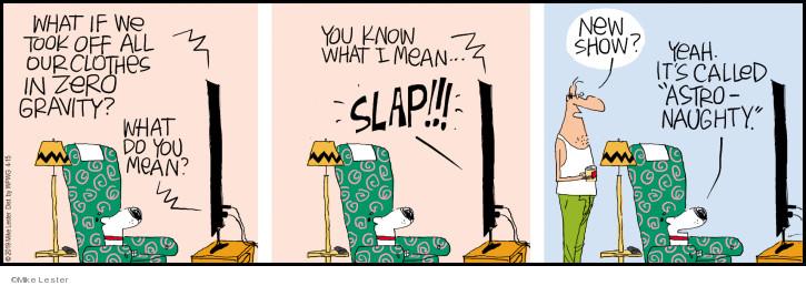 Cartoonist Mike Lester  Mike du Jour 2019-04-15 bare