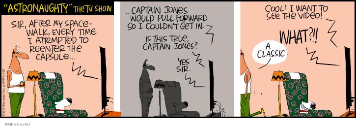 Comic Strip Mike Lester  Mike du Jour 2019-04-20 forward