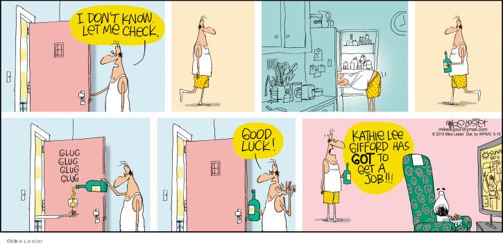 Cartoonist Mike Lester  Mike du Jour 2019-05-19 celebrity