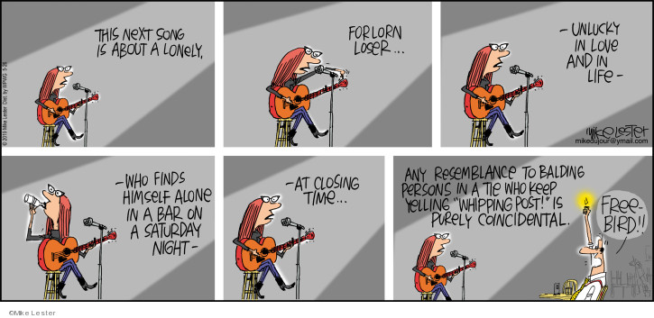 Comic Strip Mike Lester  Mike du Jour 2019-05-26 loser