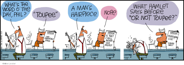 Cartoonist Mike Lester  Mike du Jour 2019-05-31 live