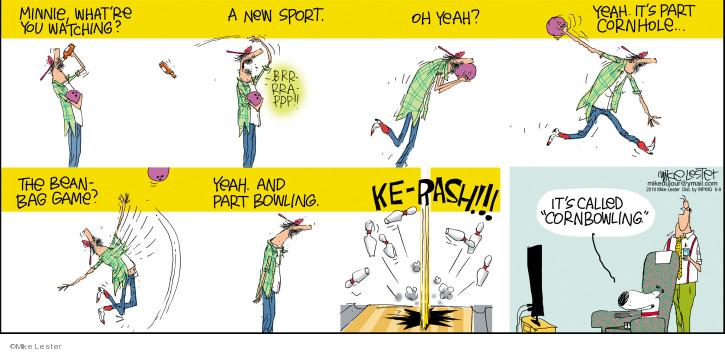 Comic Strip Mike Lester  Mike du Jour 2019-06-09 sport