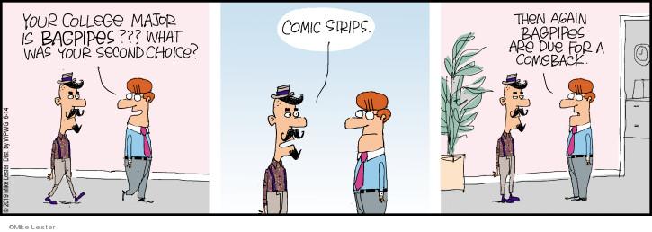 Comic Strip Mike Lester  Mike du Jour 2019-06-14 college