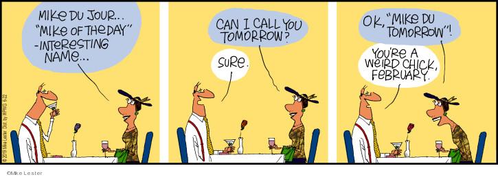 Cartoonist Mike Lester  Mike du Jour 2019-06-22 date