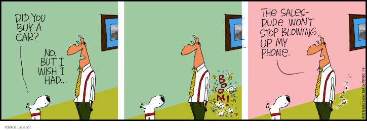 Comic Strip Mike Lester  Mike du Jour 2019-07-06 buy