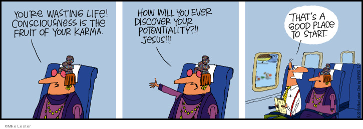 Comic Strip Mike Lester  Mike du Jour 2019-07-27 life
