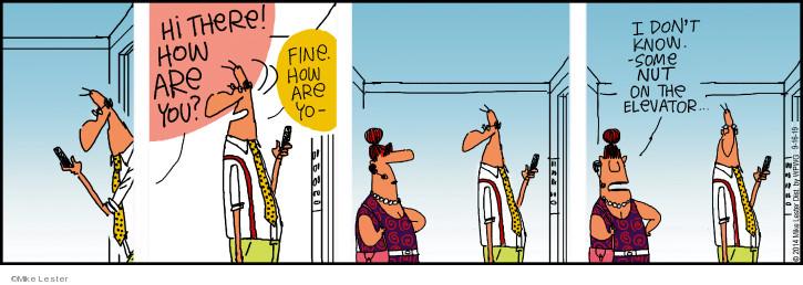 Cartoonist Mike Lester  Mike du Jour 2019-09-16 Mike
