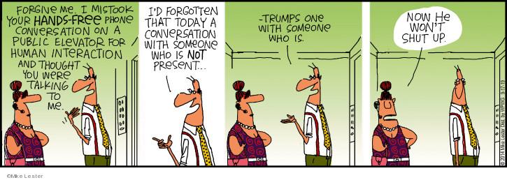 Cartoonist Mike Lester  Mike du Jour 2019-09-17 Mike