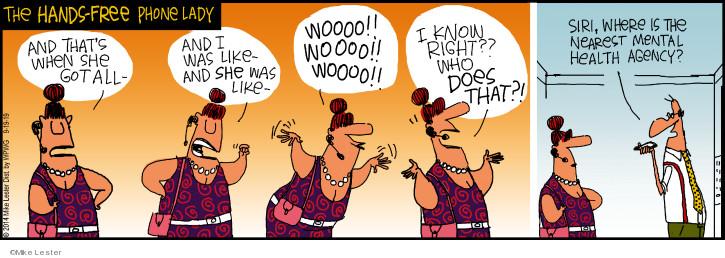 Cartoonist Mike Lester  Mike du Jour 2019-09-19 Mike