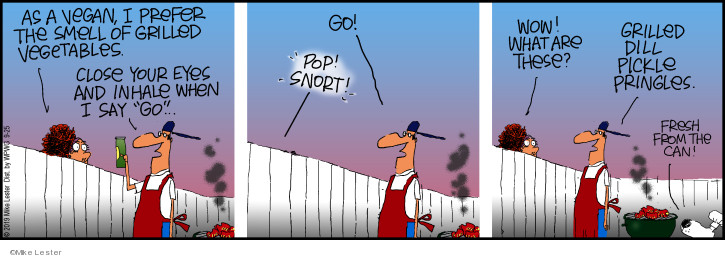 Cartoonist Mike Lester  Mike du Jour 2019-09-25 smell