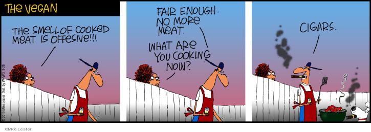 Cartoonist Mike Lester  Mike du Jour 2019-09-28 smell