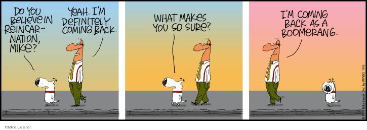 Cartoonist Mike Lester  Mike du Jour 2019-10-05 make