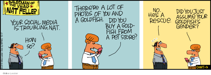 Comic Strip Mike Lester  Mike du Jour 2019-10-17 picture