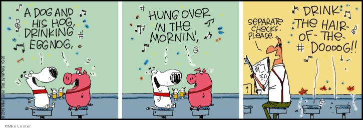 Comic Strip Mike Lester  Mike du Jour 2019-10-26 alcohol