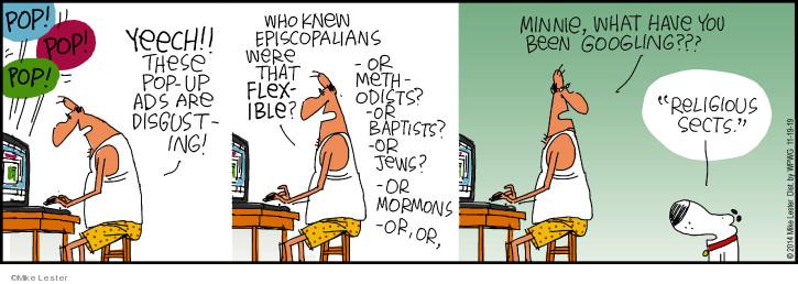 Cartoonist Mike Lester  Mike du Jour 2019-11-19 Minnie