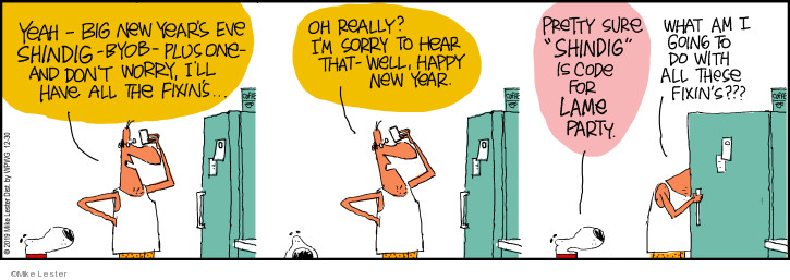 Comic Strip Mike Lester  Mike du Jour 2019-12-30 year